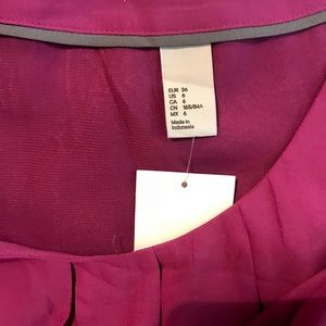 H&M NWT short dress